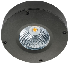 Loftarmatur Callisto LED 4W 2700K grafit