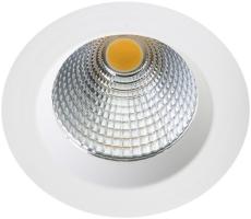 Downlight Jupiter Pro LED 25W 3000K60°Dali hvid