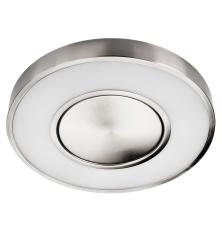 Armatur Circulus LED 19W 827, 1360 lumen børstet stål