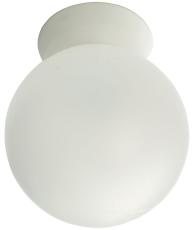 Vægarmatur Rondo LED 10W 2700K E27 hvid IP44