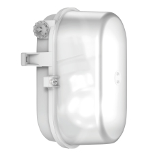 Signallampe oval E27 (max 60W) grå/hvid IP43 50605