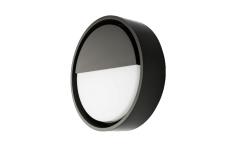 Væg Frame Round Wall LED 7W 3000K, sort