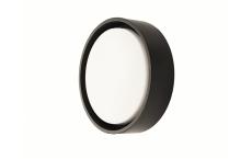 Væg-/Loft Frame Round Maxi LED 23W 3000K, 2280 lumen, sort,