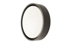 Væg-/Loft Frame Round Maxi LED 23W 3000K, nødlys, sort
