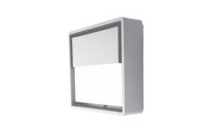 Væg Frame Square Wall LED 6W 3000K, hvid