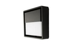 Væg Frame Square Wall LED 6W 3000K, sort