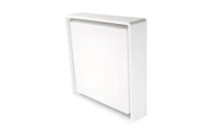 Væg-/Loft Frame Square Maxi LED 22W 3000K, nødlys, hvid