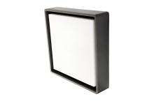 Væg-/Loft Frame Square Maxi LED 22W 3000K, nødlys, grafit