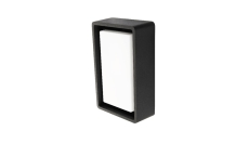 Væg-/Loft Frame Mini LED 6W 3000K, 580 lumen, sort, IP65