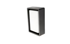 Væg-/Loft Frame Mini LED 6W 3000K, 580 lumen, grafit, IP65
