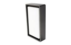 Væg-/Loft Frame LED 7W 3000K, 670 lumen, sensor, grafit, IP6