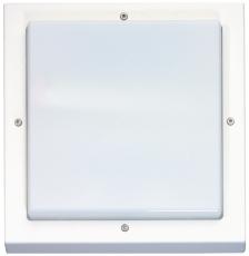Vægarmatur Bassi LED 10W/830 Sensor Hvid