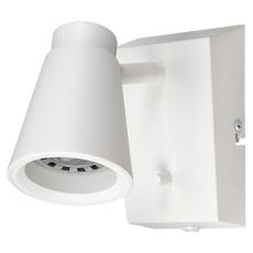Vægarmatur Zoom Square 5,5W LED 2700K m/dimmer mat-hvid