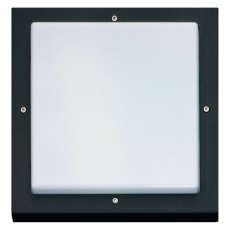 Vægarmatur Bassi LED 10W 830 3000K sort