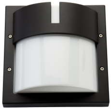 Vægarmatur Ludo LED 10W 3000K 500 lumen, sort