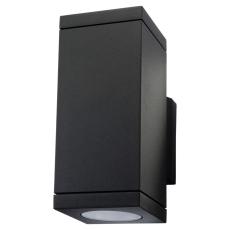 Vægarmatur Echo 2x4,5W LED 2700K sort (op/ned)