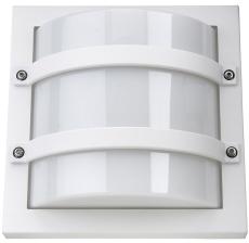 Vægarmatur Largo LED 10W 830, 540 lumen, med skumringsrelæ h