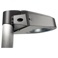 Vægarmatur Aero 2000 LED 19W 3000K grafit IP65 m/stolpebesla