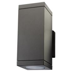 Vægarmatur Echo 2x4,5W LED 2700K grafit (op/ned)