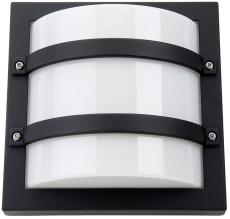 Vægarmatur Largo LED 10W 830, 540 lumen, med skumringsrelæ s