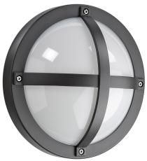 Vægarmatur Solo 1100 LED 11,5W 830, 610 lumen, med sensor gr