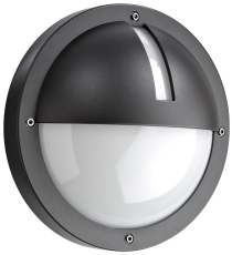 Vægarmatur Uno 1100 LED 11,5W 830, 440 lumen, med sensor gra