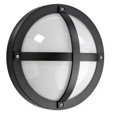 Vægarmatur Solo 1100 LED 11,5W 3000K skumringsrelæ sort