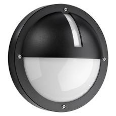 Vægarmatur Uno 1100 LED 11,5W 3000K skumringsrelæ sort