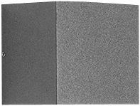 Vægarmatur Quasar 10 1WB LED 3,5W 3000K AN3 antracit