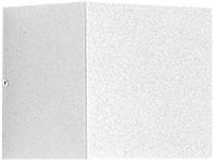 Vægarmatur Quasar 10 1NB+1WB LED 6W 3000K WH1 hvid