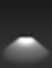 Vægarmatur Quasar 30 LED 23W 3000K, Tech, hvid