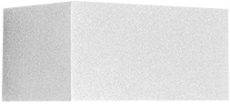 Vægarmatur Quasar 20 LED 23W 3000K double tech WH1 hvid