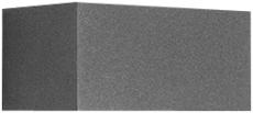 Vægarmatur Quasar 20 LED 23W 3000K double tech AN3 antracit