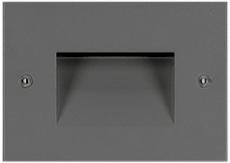 Vægarmatur Indbygning Insert+ Zero LED 5W 3000K AN3 antracit