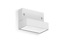 Vægarmatur Polo+ Zero LED 6,5W 3000K, grå