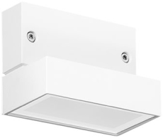 Vægarmatur Polo+ Zero LED 6,5W 3000K WH1 hvid