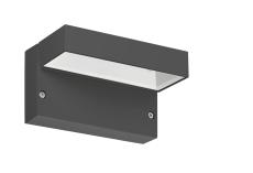 Vægarmatur Polo+ 2 LED 11,5W 3000K AN3 antracit
