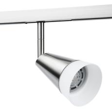 Zip 230V Glas Spot 6W LED 2700K børstet stål