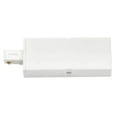 Zip 230V endetilslutning, hvid (1-faset)