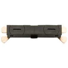Zip 230V Sammenkobling lige stykke sort