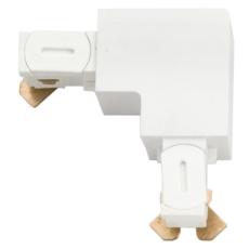 Zip 230V Vinklet stykke hvid