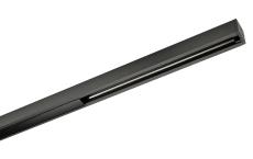 Zip 230V Skinne 2M, sort (1-faset)