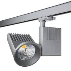 Zip Pro Spot LED 36W 930 3000K 40° (3-faset) sølv