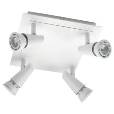 Loft Armatur Con 4x6W LED 2700K mat-hvid