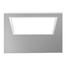 Indb. Armatur Sidelite Eco LED 34W 830 622x622 opal