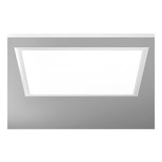 Indb. Armatur Sidelite Eco LED 34W 830 622x622 prismatisk