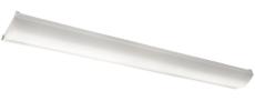 Armatur Wave 1200 LED 42W 830, sensor, hvid, IP44