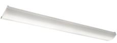Armatur Wave 1200 LED 42W 840, hvid, IP44
