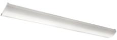 Armatur Wave 1200 LED 42W 840, sensor, hvid, IP44