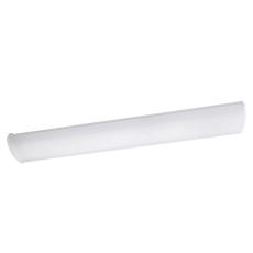 Armatur Wave hvid 2x28W HF 3000K nødlys IP44